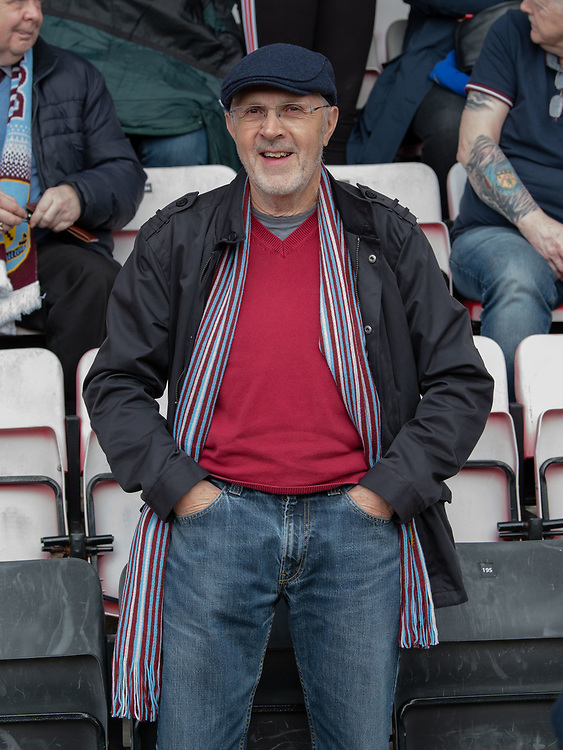Burnley fan at half time<br /> <br /> Photographer David Horton/CameraSport<br /> <br /> The Premier League - Bournemouth v Burnley - Saturday 6th April 2019 - Vitality Stadium - Bournemouth<br /> <br /> World Copyright © 2019 CameraSport. All rights reserved. 43 Linden Ave. Countesthorpe. Leicester. England. LE8 5PG - Tel: +44 (0) 116 277 4147 - admin@camerasport.com - www.camerasport.com