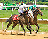 Benediction winning at Delaware Park on 7/20/16