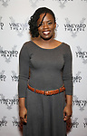 "Antoinette Nwandu attending the Opening Night Performance for The Vineyard Theatre production of  ""Do You Feel Anger?"" at the Vineyard Theatre on April 2, 2019 in New York City."