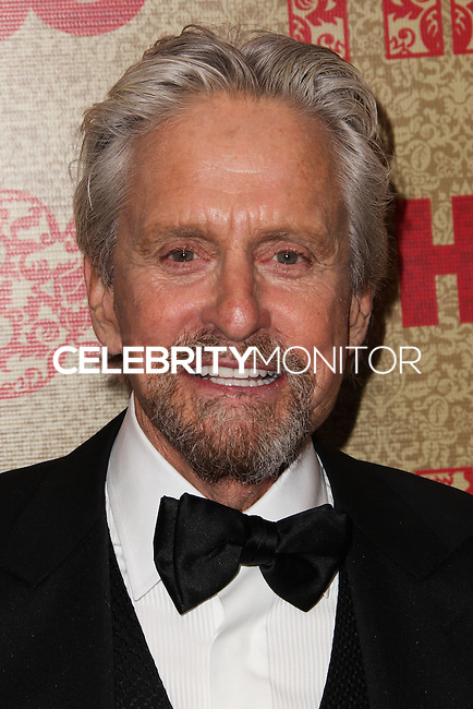 BEVERLY HILLS, CA - JANUARY 12: Michael Douglas at the HBO 71st Annual Golden Globe Awards After Party held at The Beverly Hilton Hotel on January 12, 2014 in Beverly Hills, California. (Photo by Xavier Collin/Celebrity Monitor)