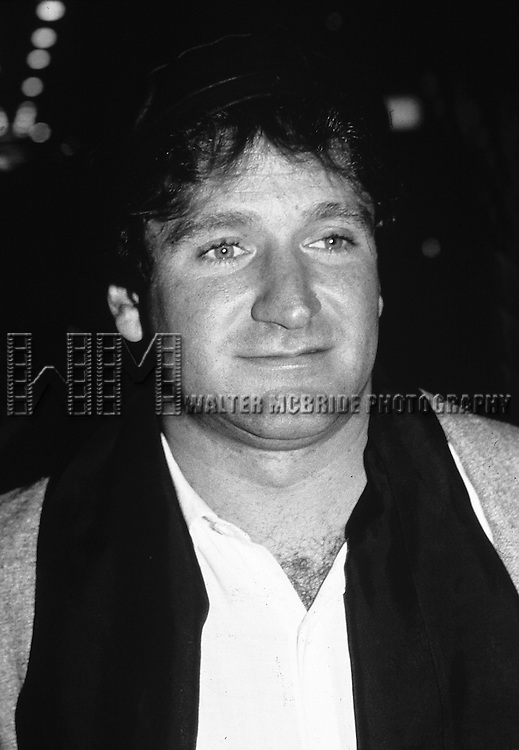 Robin Williams pictured in New York City in 1981.