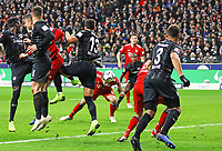 Kopfballchance Javier Martinez (FC Bayern Muenchen) - 22.12.2018: Eintracht Frankfurt vs. FC Bayern München, Commerzbank Arena, DISCLAIMER: DFL regulations prohibit any use of photographs as image sequences and/or quasi-video.