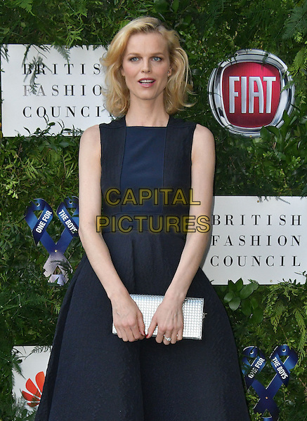 Eva Herzigova at Charity ball in aid of One For The Boys, a charity raising awareness of male forms of cancer, encouraging men to get checked regularly. Evening celebrates the launch of the 2016 campaign film The Difference, at Victoria and Albert Museum, London, England June 12, 2016.<br /> CAP/JOR<br /> &copy;JOR/Capital Pictures