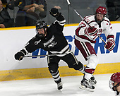 Robbie Hennessey (PC - 25), Lewis Zerter-Gossage (Harvard - 77) - The Harvard University Crimson defeated the Providence College Friars 3-0 in their NCAA East regional semi-final on Friday, March 24, 2017, at Dunkin' Donuts Center in Providence, Rhode Island.