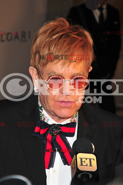 NEW YOKR, NY - NOVEMBER 7: Elton John at The Elton John AIDS Foundation's Annual Fall Gala at the Cathedral of St. John the Divine on November 7, 2017 in New York City. Credit:John Palmer/MediaPunch /NortePhoto.com