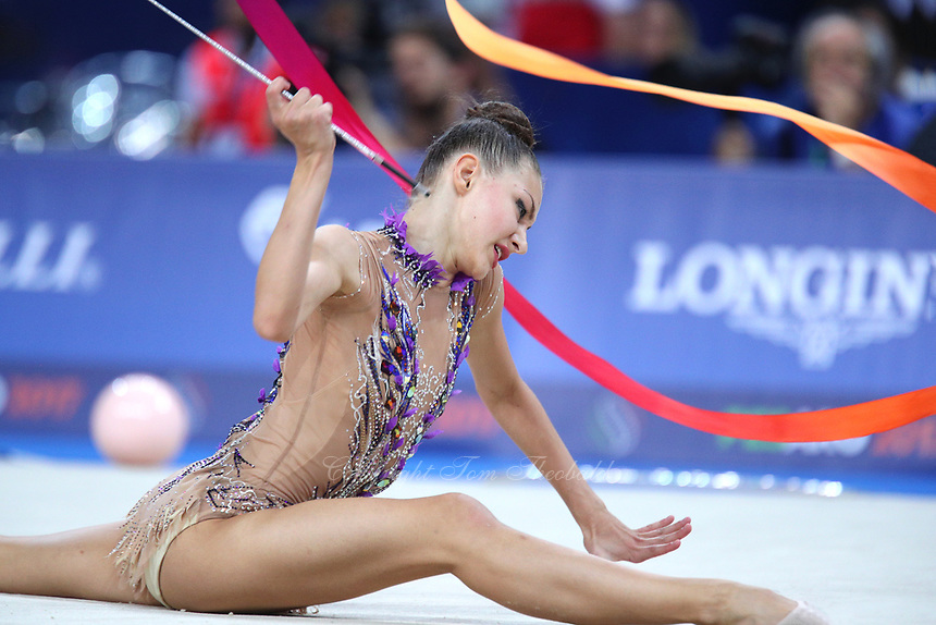 September 1, 2017 - Pesaro, Italy - OLGA GRISKENAS of USA performs in AA final at 2017 World Championships.