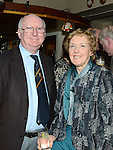 Peter and Brenda O'Leary pictured at the Boyne RFC annual dinner held at Shamrock Lodge. Photo:Colin Bell/pressphotos.ie