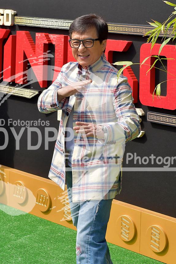 Jackie Chan bei der Premiere des Kinifilme 'The LEGO Ninjago Movie' im Regency Village Theatre. Westwood, 16.09.2017