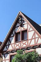 Aberdanz`sches Haus (um 1600) in Großheubach am Main, Bayern, Deutschland