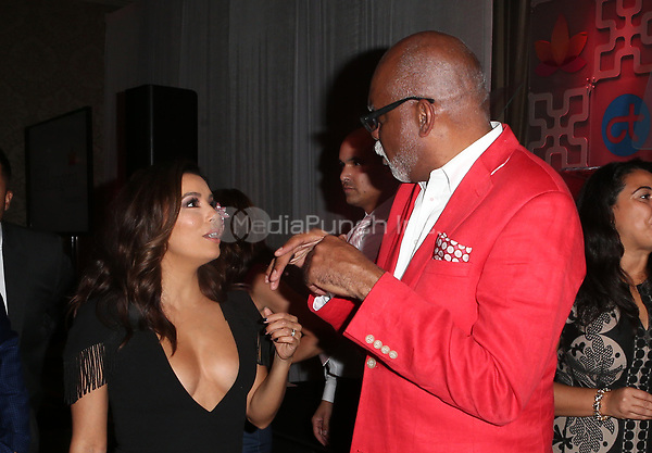 BEVERLY HILLS, CA - OCTOBER 12: ***HOUSE COVERAGE***  Eva Longoria and Bernard Boudreaux at the Eva Longoria Foundation Gala at The Four Seasons Beverly Hills in Beverly Hills, California on October 12, 2017. Credit: Faye Sadou/MediaPunch
