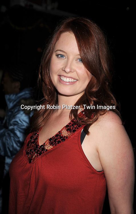 actress Melissa Archer of One Life to Live..at The Stockings With Care Benefit at Bar 13 on  December 4, 2008 in New York City. ......Robin Platzer, Twin Images