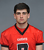 Mike Incantalupo of Floral Park poses for a portrait during Newsday's High School Football Season Preview photo shoot at company headquarters in Melville on Friday, Aug. 25, 2017.