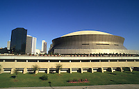 Super Dome stadium, city of New Orleans, Louisiana, NOLA, USA