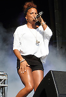 Ms Dynamite at Guilfest 2014 on the 19th July 2014