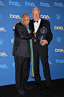LOS ANGELES, CA. February 03, 2019: Quincy Jones & Don Mischer at the 71st Annual Directors Guild of America Awards at the Ray Dolby Ballroom.<br /> Picture: Paul Smith/Featureflash