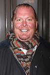 Mario Batali.arriving for the Opening Night Performance of the Manhattan Theatre Club's 'Good People'  in New York City.