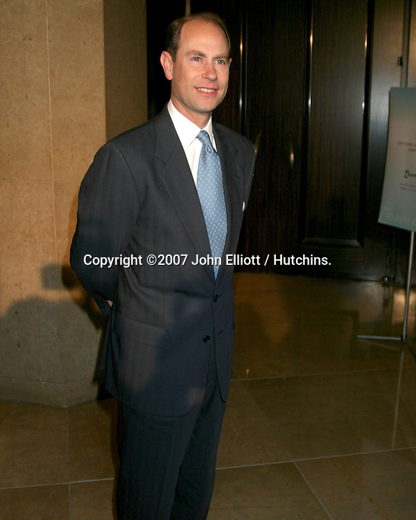His Royal Highness Prince Edward Earl of Wessex.Viewpoint School Benefactor Award.Beverly Hilton.Beverly Hills, CA.May 12, 2007.©2007 John Elliott / Hutchins