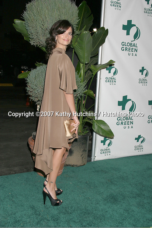 Penelope Cruz.Global Green Pre-Oscar Party.Avalon Club.Hollywood, CA.February 21, 2007.©2007 Kathy Hutchins / Hutchins Photo.