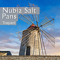 Nubia salt works museum windmill & Trapani Salt Pans - Pictures & Images of -