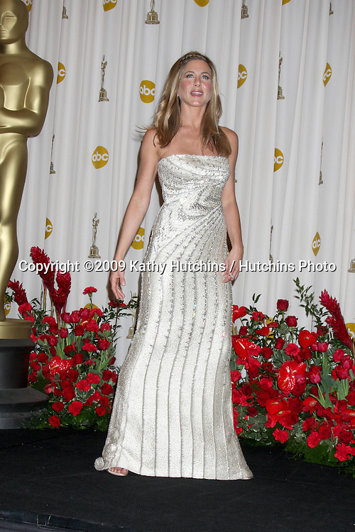 Jennifer Aniston in the 81st Academy Awards Press Room at the Kodak Theater in Los Angeles, CA  on.February 22, 2009.©2009 Kathy Hutchins / Hutchins Photo...                .