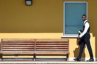 Mario Balotelli <br /> Coverciano ( Firenze ) 03-06-2014 Football Calcio Foto Ufficiale Italia - Italy Official picture campionati del mondo di calcio Brasile 2014 - Brazil 2014. Foto Andrea Staccioli / Insidefoto