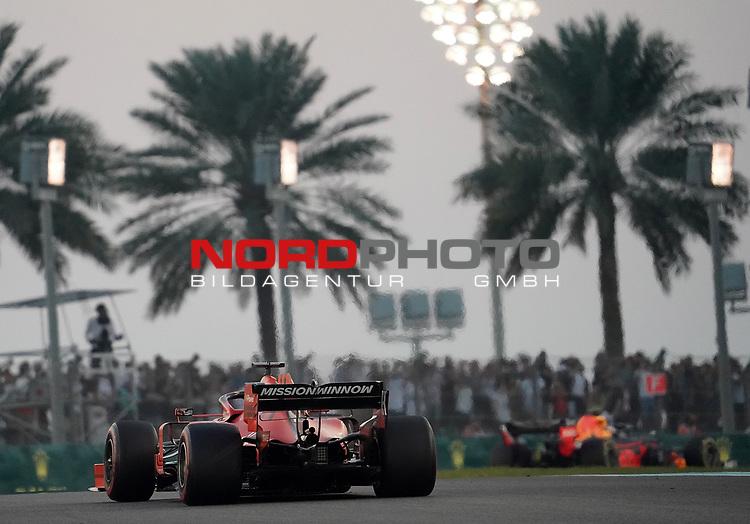 01.12.2019, Yas Marina Circuit, Abu Dhabi, FORMULA 1 ETIHAD AIRWAYS ABU DHABI GRAND PRIX 2019<br />, im Bild<br />Sebastian Vettel (GER#5), Scuderia Ferrari Mission Winnow<br /> <br /> Foto © nordphoto / Bratic