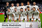Real Madrid squad pose for team photo during their La Liga  2018-19 match between Real Madrid CF and Atletico de Madrid at Santiago Bernabeu on September 29 2018 in Madrid, Spain. Photo by Diego Souto / Power Sport Images