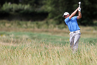 Pontus Widegren (Sweden) on the 2nd on the Final Day of the International European Amateur Championship 2012 at Carton House, 11/8/12...(Photo credit should read Jenny Matthews/Golffile)...