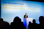 Former President Bill Clinton at VISA Payments Forum