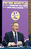 UKIP launch London Manifesto 2016 <br /> with Candidates for mayor and the London Assembly <br /> at the Emmanuel Centre, London, Great Britain <br /> 19th April 2016 <br /> <br /> <br /> Peter Whittle <br /> Candidate for mayor of London <br /> <br /> <br /> <br /> Photograph by Elliott Franks <br /> Image licensed to Elliott Franks Photography Services