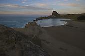 Castle rock at dawn, Castlepoint, Masterton, NZ