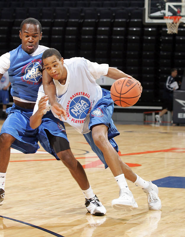 G/F Dominic Cheek (Jersey City, NJ / St. Anthony) shoots the ball during the NBA Top 100 Camp held Saturday June 23, 2007 at the John Paul Jones arena in Charlottesville, Va. (Photo/Andrew Shurtleff)