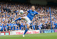 Luke Woolfenden of Ipswich Town clears during Ipswich Town vs Sunderland AFC, Sky Bet EFL League 1 Football at Portman Road on 10th August 2019