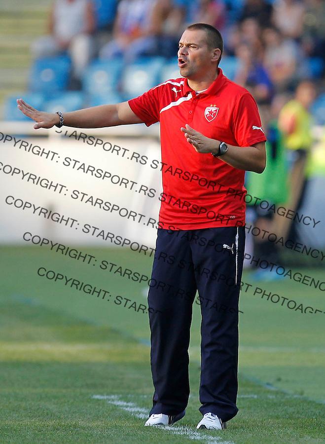 Fudbal UEFA Europa League season 2013-2014<br /> Cernomorec Vs. Crvena Zvezda<br /> Coach Milos Kostic<br /> Odessa, 02.08.2013.<br /> foto: Srdjan Stevanovic/Starsportphoto &copy;