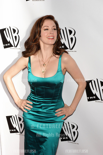 "Actress ROSE McGOWAN, star of TV series ""Charmed"", at the WB TV Network's 2005 All Star Celebration in Hollywood..July 22, 2005  Los Angeles, CA.© 2005 Paul Smith / Featureflash"