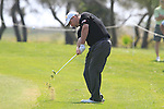 Kenneth Ferrie (ENG) plays his 2nd shot on the 17th hole on his way to shooting 11 under par for a score of 60 during Day 3 Saturday of the Open de Andalucia de Golf at Parador Golf Club Malaga 26th March 2011. (Photo Eoin Clarke/Golffile 2011)