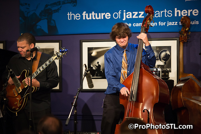 """A memorial concert honoring the late Richard """"Rich"""" McDonnell and featuring artists from his MAXJAZZ label at Jazz at the Bistro on May 25, 2014."""