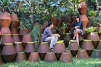 Museo Archivo y su entorno.  Mexico DF