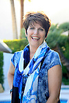 PALM SPRINGS - APR 27: Lucie Arnaz at a cultivation event for The Actors Fund at a private residence on April 27, 2016 in Palm Springs, California