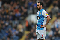 Blackburn Rovers' Greg Cunningham<br /> <br /> Photographer Kevin Barnes/CameraSport<br /> <br /> The EFL Sky Bet Championship - Blackburn Rovers v Luton Town - Saturday 28th September 2019 - Ewood Park - Blackburn<br /> <br /> World Copyright © 2019 CameraSport. All rights reserved. 43 Linden Ave. Countesthorpe. Leicester. England. LE8 5PG - Tel: +44 (0) 116 277 4147 - admin@camerasport.com - www.camerasport.com