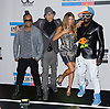 "BLACK EYED PEAS.American Music Awards 2010,Nokia Rheatre, Los Angeles_21/10/2010.Mandatory Photo Credit: ©Dias/Newspix International..**ALL FEES PAYABLE TO: ""NEWSPIX INTERNATIONAL""**..PHOTO CREDIT MANDATORY!!: NEWSPIX INTERNATIONAL(Failure to credit will incur a surcharge of 100% of reproduction fees)..IMMEDIATE CONFIRMATION OF USAGE REQUIRED:.Newspix International, 31 Chinnery Hill, Bishop's Stortford, ENGLAND CM23 3PS.Tel:+441279 324672  ; Fax: +441279656877.Mobile:  0777568 1153.e-mail: info@newspixinternational.co.uk"