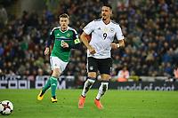 Sandro Wagner (Deutschland Germany) - 05.10.2017: Nordirland vs. Deutschland, WM-Qualifikation Spiel 9, Windsor Park Belfast