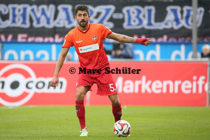 Kerem Demirbay (FCK) - FSV Frankfurt vs. 1. FC Kaiserslautern, Frankfurter Volksbank Stadion
