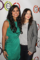 WEST HOLLYWOOD, CA - NOVEMBER 14:  KImberly Snyder and Drew Barrymore at the opening of Kimberly Snyder's Glow Bio Juice Bar at Glow Bio on November 14, 2012 in West Hollywood, California. Credit: mpi22/MediaPunch Inc. /NortePhoto