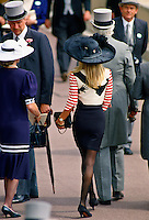 Fashion at Royal Ascot races, England
