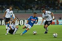 Dries Mertens Napoli<br /> Napoli 27-08-2017  Stadio San Paolo <br /> Football Campionato Serie A 2017/2018 <br /> Napoli - Atalanta<br /> Foto Cesare Purini / Insidefoto