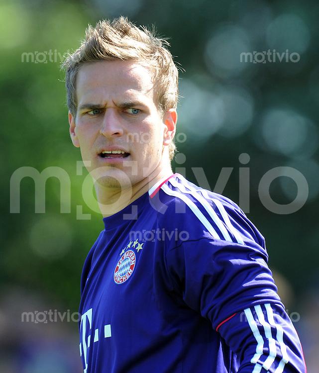 FUSSBALL  1. BUNDESLIGA   SAISON 2010/2011  TESTSPIEL Fanclub Lohner Bayern Union - FC Bayern Muenchen     26.06.2010 Thomas KRAFT (FC Bayern Muenchen)