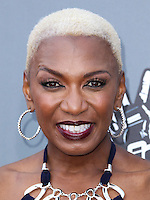 "UNIVERSAL CITY, CA, USA - APRIL 15: Sisaundra Lewis at NBC's ""The Voice"" Season 6 Top 12 Red Carpet Event held at Universal CityWalk on April 15, 2014 in Universal City, California, United States. (Photo by Xavier Collin/Celebrity Monitor)"