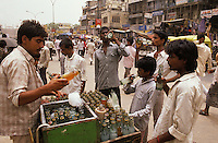Home-made drink might not be healthy because contaminated water and industrial colourings are used (Campaign of sensitization towards the harmful aspects of Street Foods).