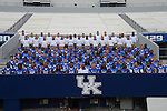 Team photo at UK Football Media Day on Friday, August 3, 2012. Photo by Mike Weaver| Staff